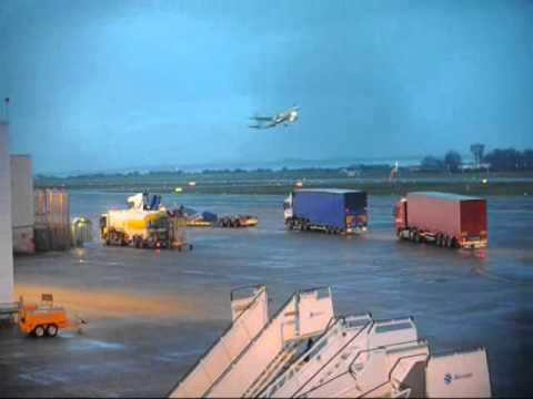 FEB 2011 : Manx2 wreckage leaving Cork Airport