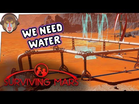 WE NEED WATER | Surviving Mars Let's play P2