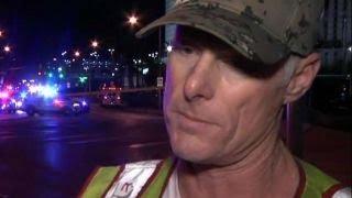 Las Vegas firefighter: It was like a war scene