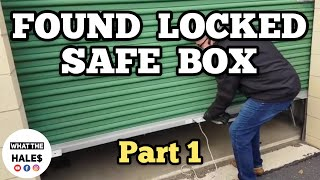 Opening 2 $980 Collectibles Real Life Storage Wars Units Auction With Locked Mystery Boxes