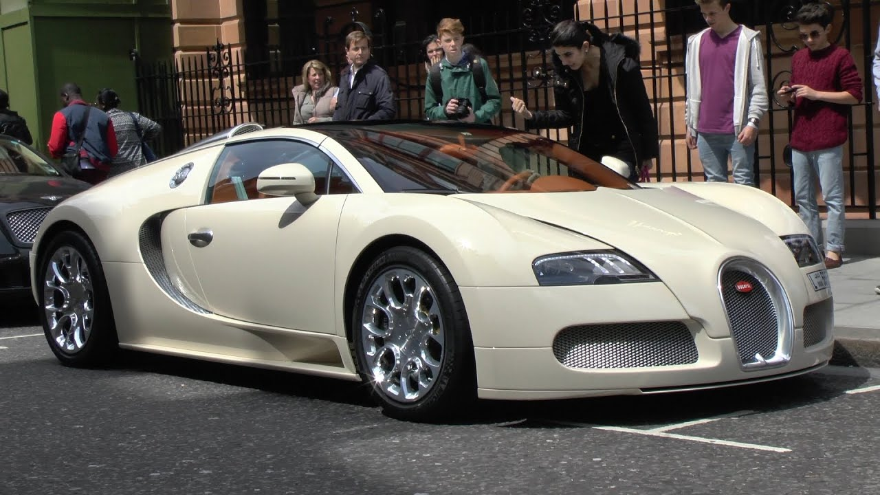 Bugatti Veyron Super Sport Hd Wallpaper Cream Bugatti Veyron Grand Sport Driving In London Youtube