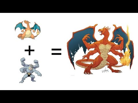 Pokemon Evolutions That You Wish Existed! Legendary Pokemon Fusion