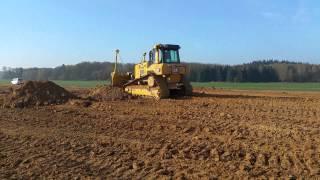 cat d6n xl pushing sand