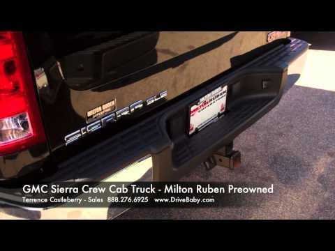 Used GMC Sierra Crew Cab Truck - Milton Ruben Preowned  Augusta GA