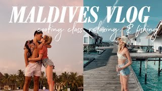 MALDIVES VLOG | a day on vacay with us!