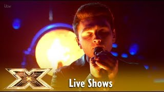 Brendan Murray Sings Say Something and Simon STANDS UP! WOW! Live Shows 5 | The X Factor UK 2018