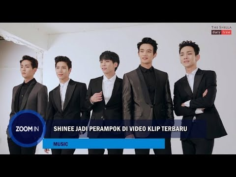 SHINee Jadi Perampok di Video Klip Terbaru!