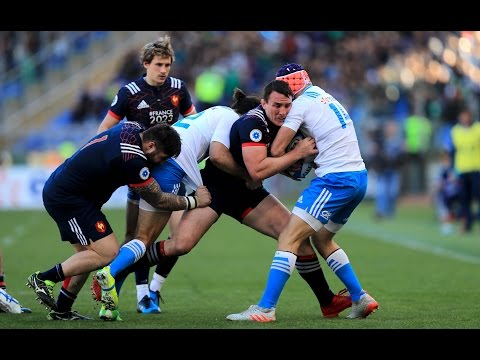 Short Highlights: Italy 18-40 France | RBS 6 Nations