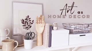 Make Your Own Beautiful Wall Art | Easy Home Decor