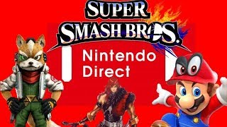 Massive Nintendo Direct Rumor: Smash Ultimate Story Mode | Star Fox Racing | Simon Belmont & More