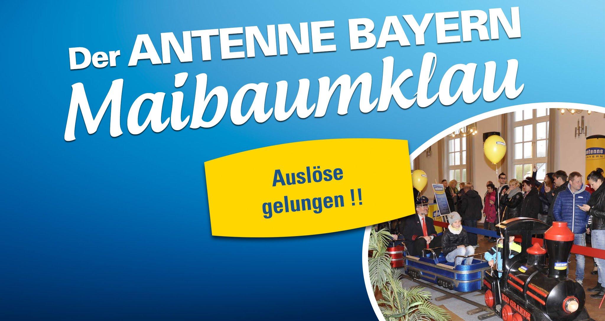 Antenne Bayern Maibaum