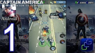 Captain America: The Winter Soldier - The Official Game Android Walkthrough - Part 1 - Stage 1-2