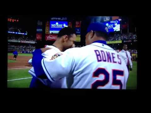 Johan Santana & The Mets Get Their First No-hitter - In HD