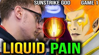 LIQUID vs PaiN - MIRACLE INVOKER SUNSTRIKE GOD - ESL One Birmingham 2018 GAME 1