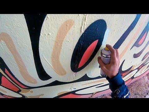 Graffiti - Rake43 - Cheese Piece
