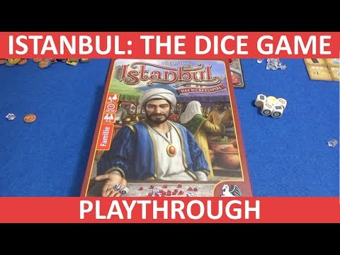 Istanbul: The Dice Game - Playthrough - slickerdrips