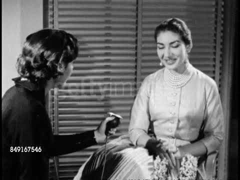 Maria Callas: A very short  January 31st, 1957