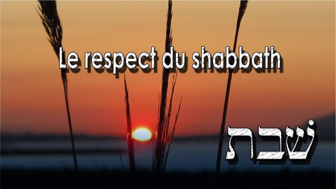 Download Le respect du shabbath