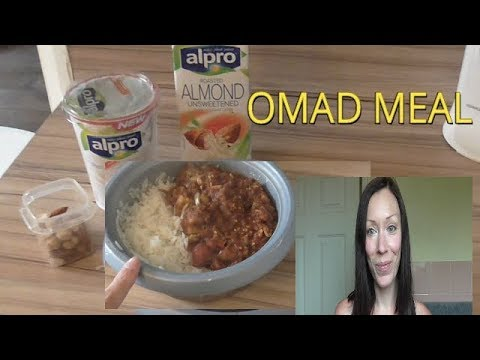 OMAD - ONE MEAL A DAY - WHAT I ATE ON OMAD TODAY