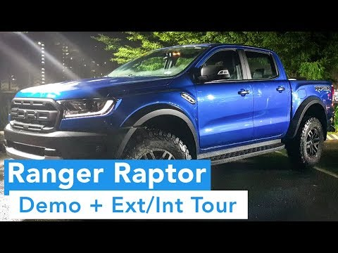 2018 Ford Raptor and All New Ford Ranger