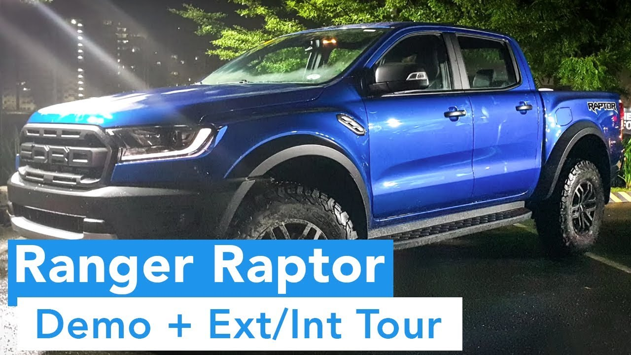 2018 Ford Ranger Raptor (Philippines Public Release: Demo + Tour)