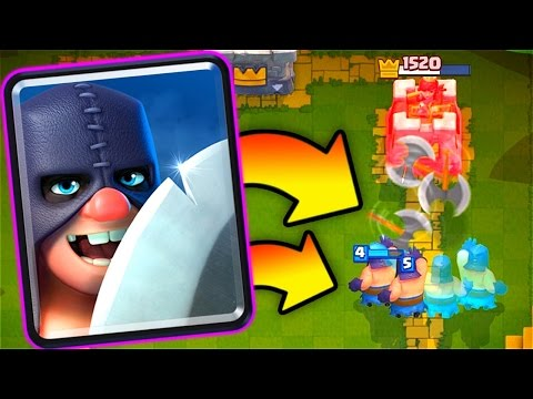 "Thumbnail: New ""EXECUTIONER"" Gameplay // Clash Royale Update!"