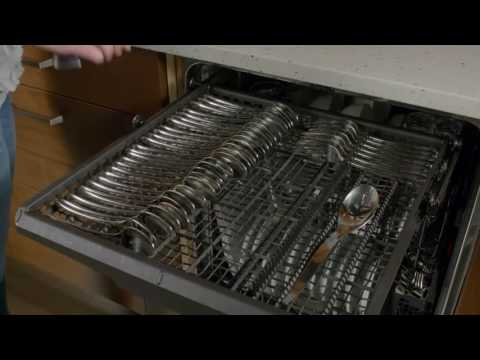 Discover the Third Rack in the GE Appliances Dishwashers