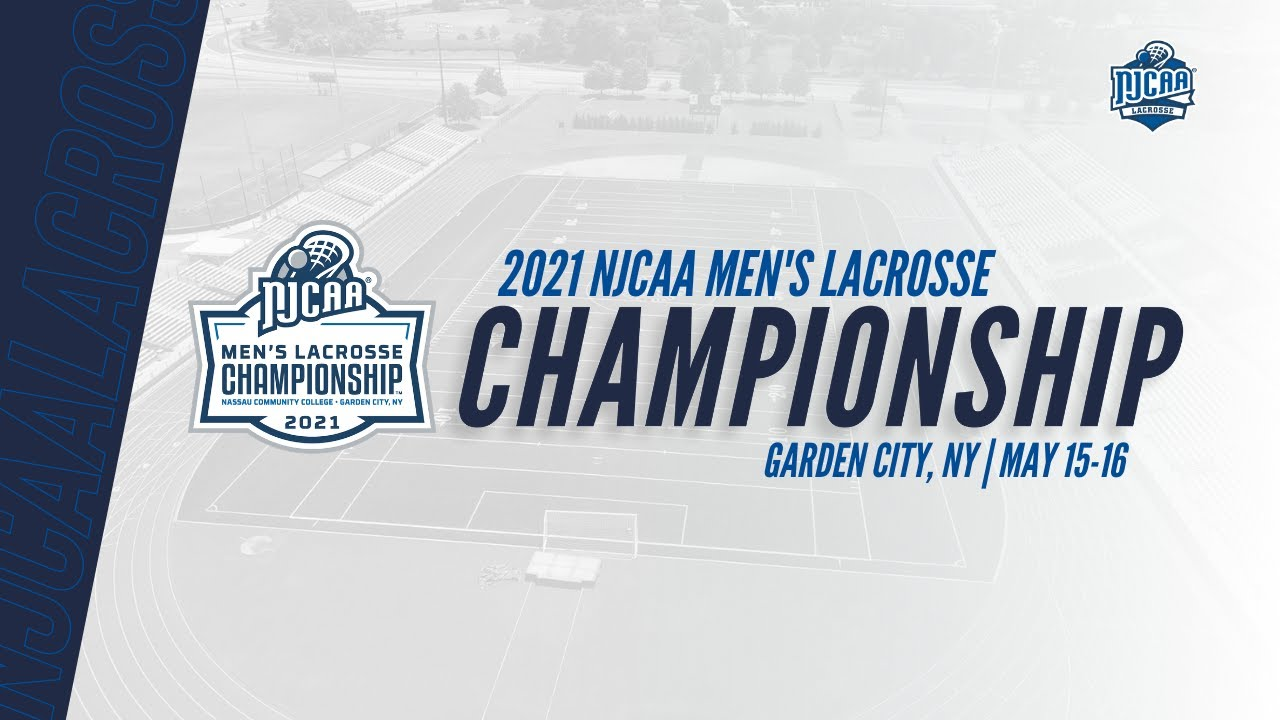 2021 NJCAA Men's Lacrosse Championship - Bracket Reveal