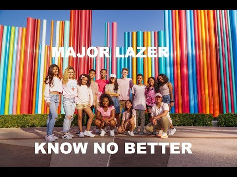 Major Lazer | Know No Better | Dance Video