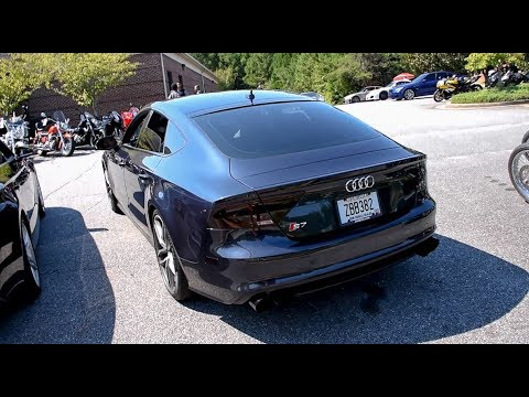 audi s7 awe tuning exhaust youtube. Black Bedroom Furniture Sets. Home Design Ideas