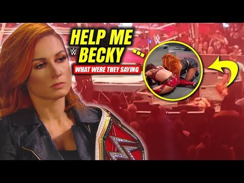Becky Lynch SAVES Kairi Sane's Life During WWE TLC! (Footage Of What WWE Didn't Show LEAKS)