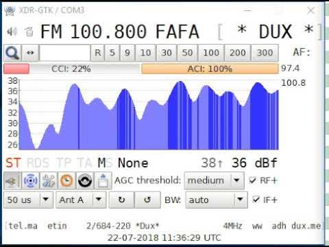 Sporadic-e 100.8 Radio Dux, Tivat/Luštica (Montenegro) - Cerro Caldera/Pandera 1972 km