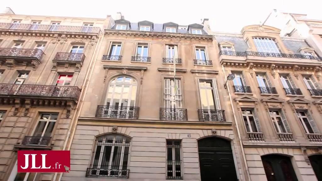 Bureaux à louer rue de la bienfaisance paris youtube