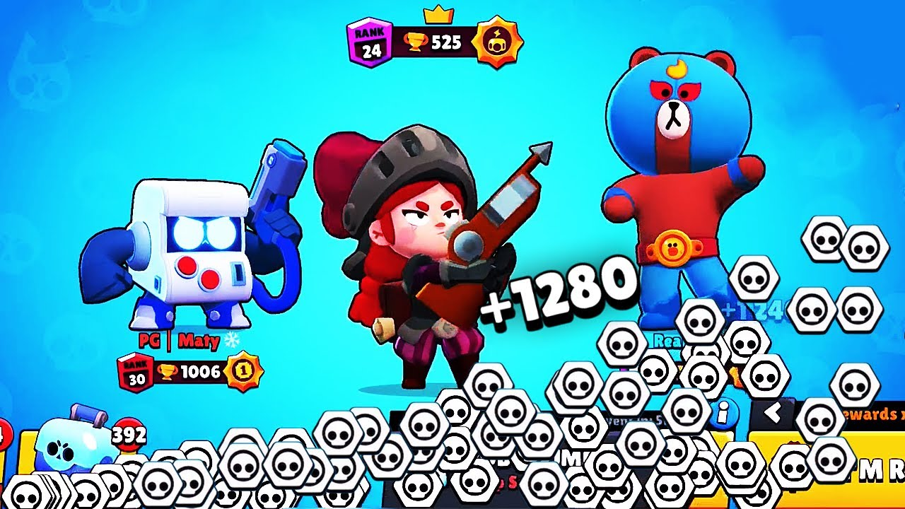 BIGGEST REWARD POSSIBLE?! Jessie + Robo Rumble // BrawlStars