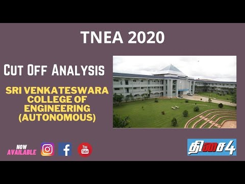 SVCE   Sri Venkateswara College Of Engineering (Autonomous)   Cutoff Analysis   2017 To 2019