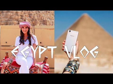 OPPO F1S Vlog Egypt I OPPO F1S رحلتي إلى مصر لإطلاق I Zaina Aguenaou