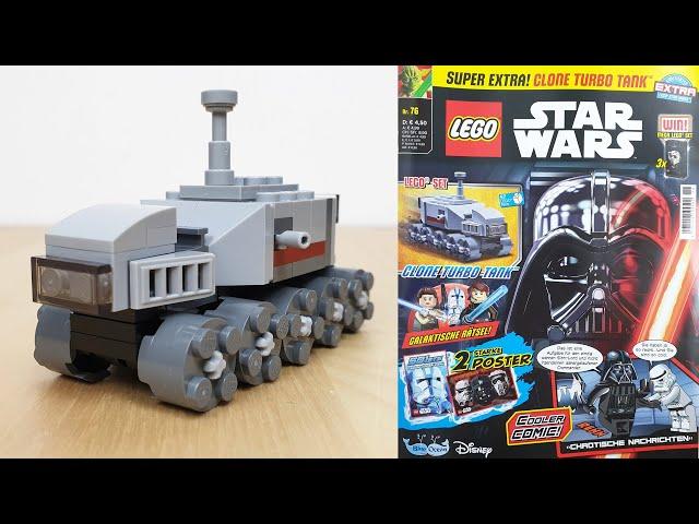 LEGO® Star Wars™ Magazin Nr. 76 mit Clone Turbo Tank im Foilpack