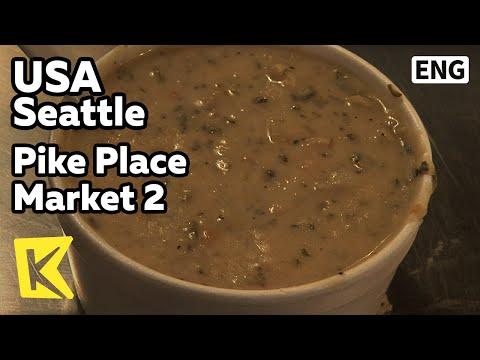 【K】USA Travel-Seattle[미국 여행-시애틀]파이크 플레이크 시장, 대게 요리/Pike Place Market 2/Snow Crab/Restaurant