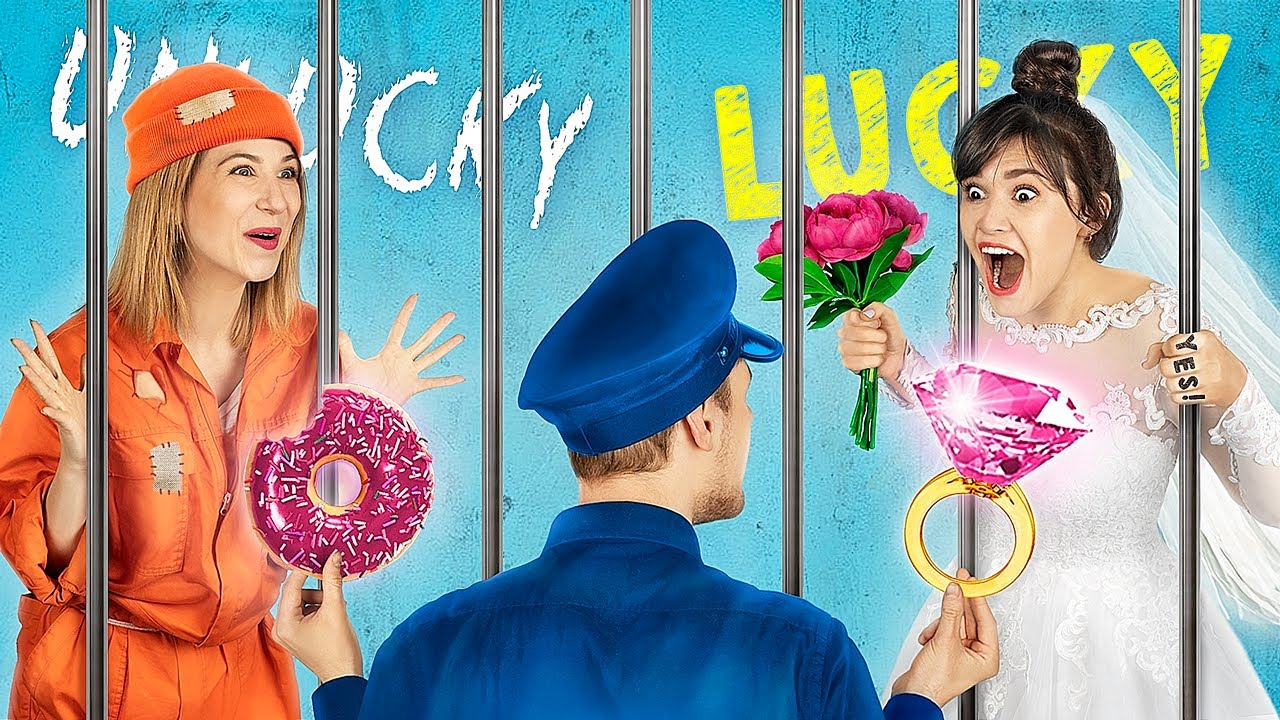 Lucky Jail vs Unlucky Jail / 19 Funny Situations