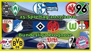 FIFA 18 Bundesliga Prognose 25.Spieltag 2017/2018 Alle Spiele, alle Tore Deutsch (HD)