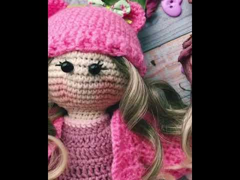 вязанная кукла тильда Youtube