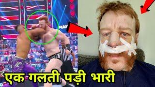 5 WWE Wrestlers Injured in 2021 ! Sheamus Nose Broken During Match !
