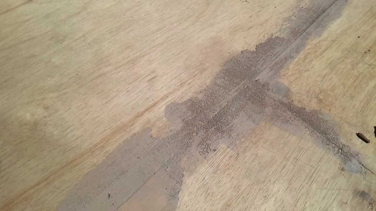 Resurfacing A Plywood Deck Using Restore 3rd Segment Crack