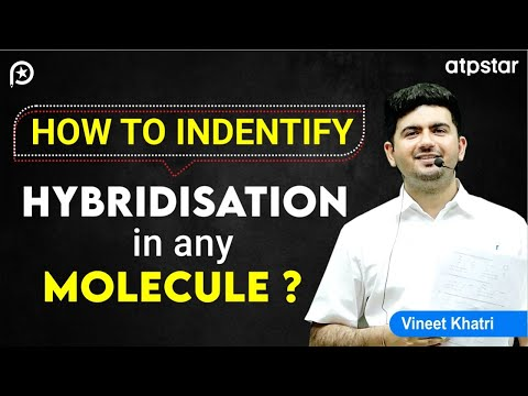 TRICK for Hybridisation in any molecule- IIT JEE Chemistry