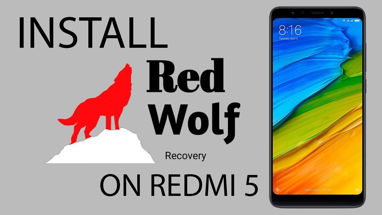 recovery zip for redmi 5