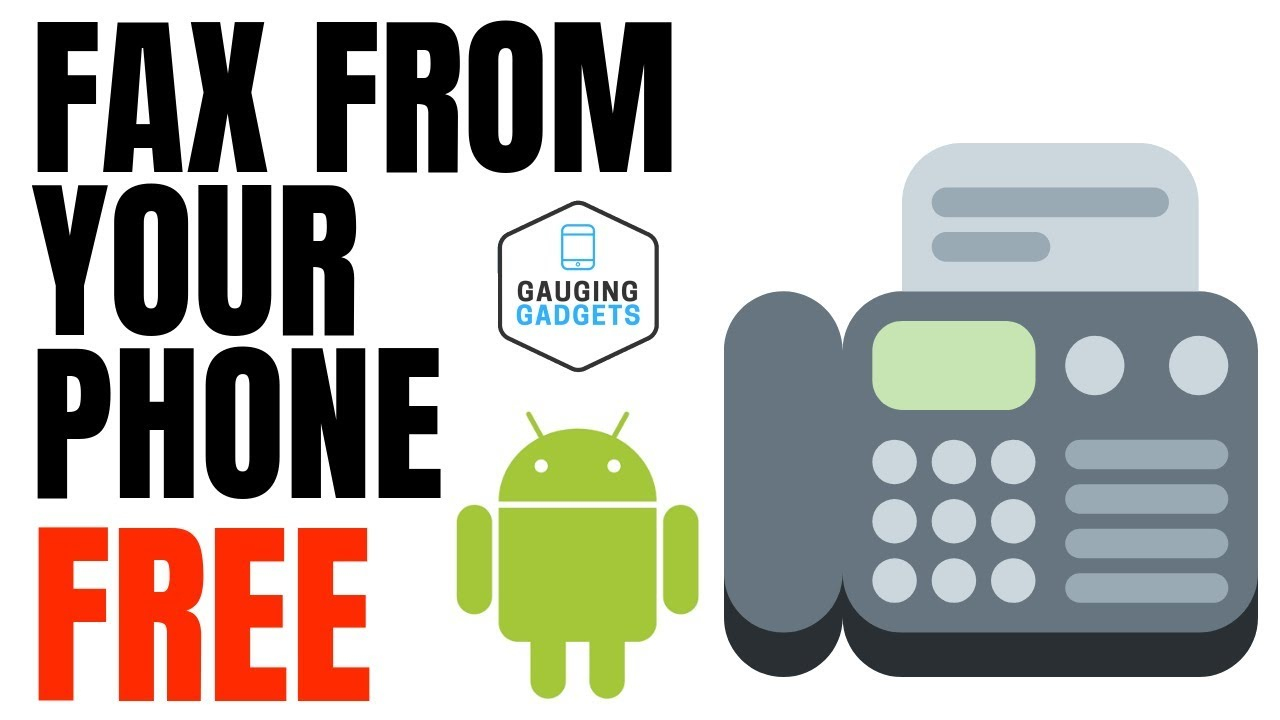 How to Send Free Faxes From Your Phone - EasyFax App Tutorial and Review