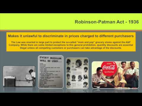 Ethics Lecture #2: The Laws of Marketing & Advertising