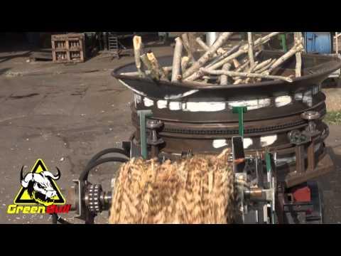 Измельчитель древесины барабанного типа своими руками