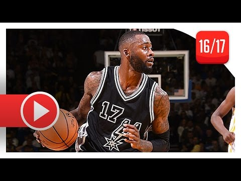 Jonathon Simmons Full Highlights vs Warriors (2016.10.25) - 20 Pts, BEAST!