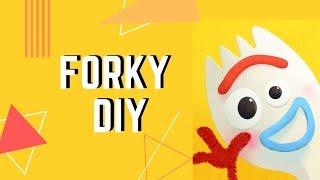 【DIY!】Toy Story 4 Forky DIY